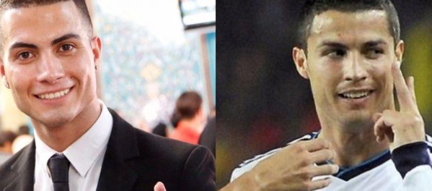 Ronaldo look-alike enjoys celebrity status in northern Iraq