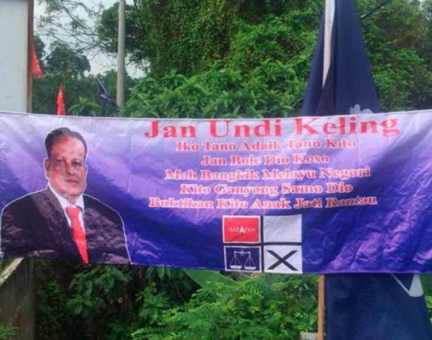 Provocative banners in Rantau- police taking statements
