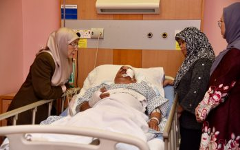 DPM's driver seriously hurt in mishap