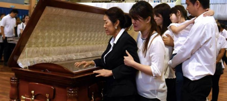 Stephen Wong Tien Fatt laid to rest
