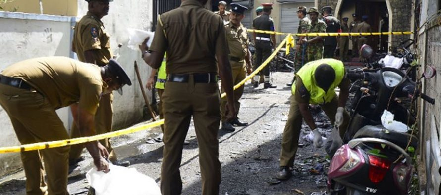 15 including 6 children killed in gun battle in Sri Lanka