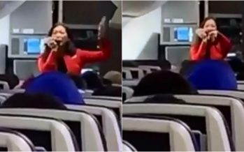 Trending: Air hostess raps safety instructions on flight, passengers beatbox with her.