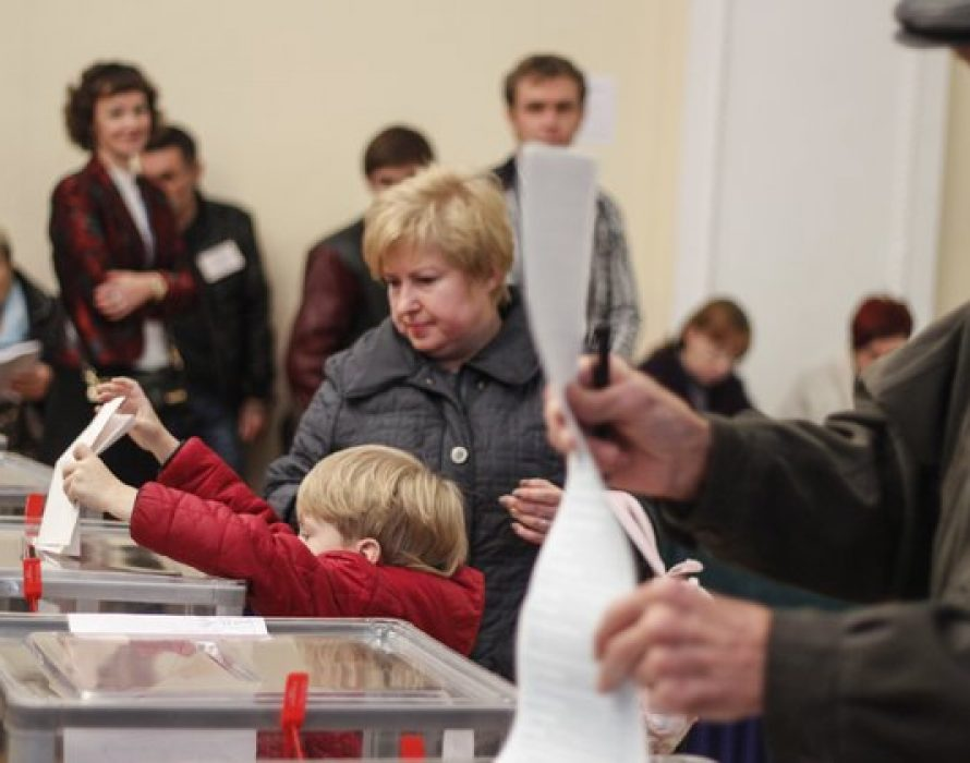 Ukrainians in Malaysia vote in presidential election