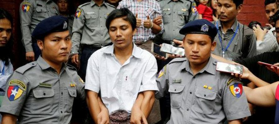 Final appeal by jailed Reuters journalists rejected