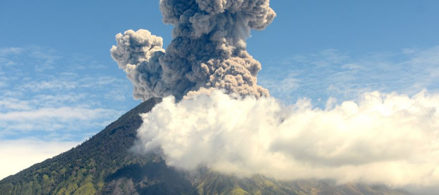 Mount Agung: flights cancelled after Bali volcano erupts