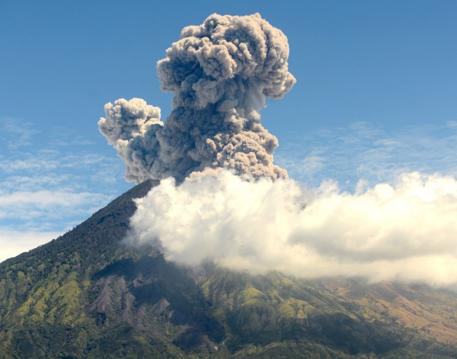 Mount Agung: flights cancelled after Bali volcano erupts