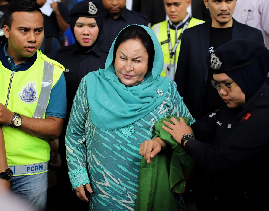 May 24 hearing of Rosmah, Rizal's cases together
