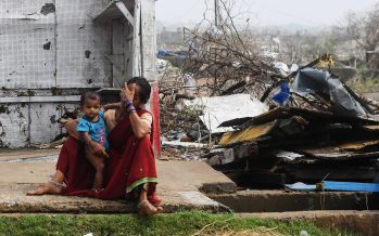 At least nine dead as monster cyclone enters Bangladesh