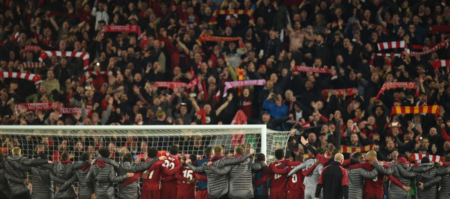 Liverpool 'giants' stun Barca to make Champions League final