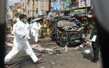 Breaking: Suicide blast at popular Pakistani shrine kills at least 10