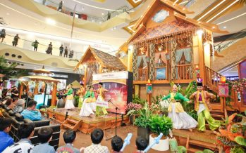 Sunway Malls adopt flora inspired theme for Raya