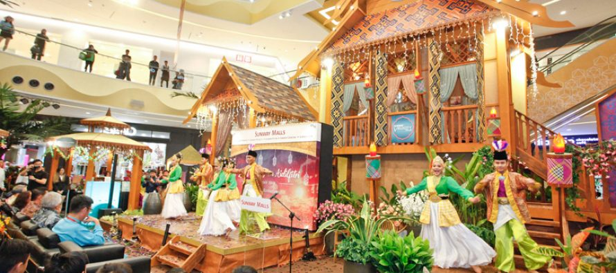 Sunway Malls adopt flora inspired theme for Raya