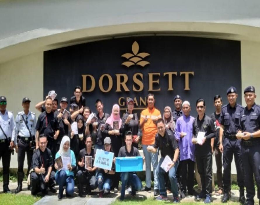 Ramadan for Dorsett Grand Labuan sharing kindness