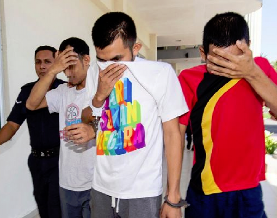 Trio charged with causing man's death