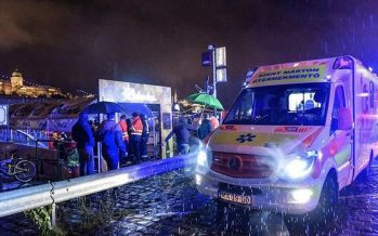 Breaking: 7 dead, 21 missing after boat touring Budapest sinks