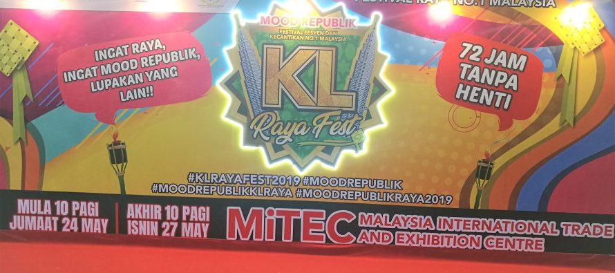 KL Raya Fest for Aidilfitri celebrations