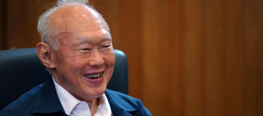 Lee Kuan Yew's grandson marries gay partner in South Africa