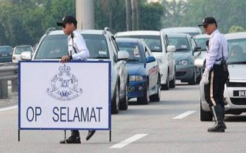 1,046 officers and men in Johor on 'Ops Selamat' duty this Raya