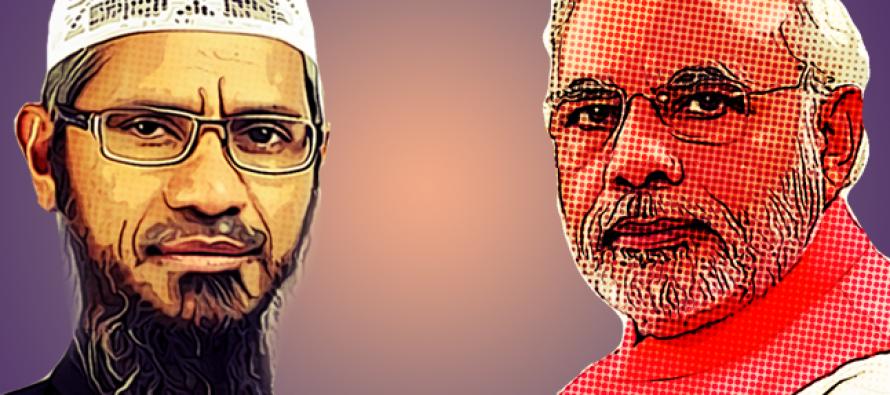 Zakir dares Modi to explain ban