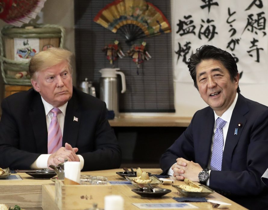 Abe: Trump supports meeting with Kim over abductions