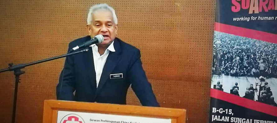AG Tommy Thomas: See, engage, disturb for reforms