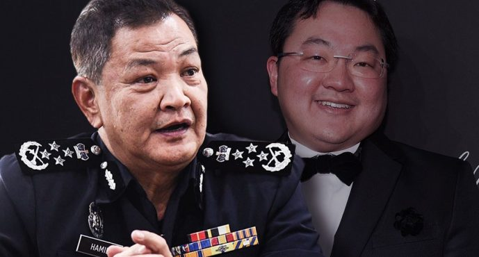 Police assures Jho Low that it is safe to return