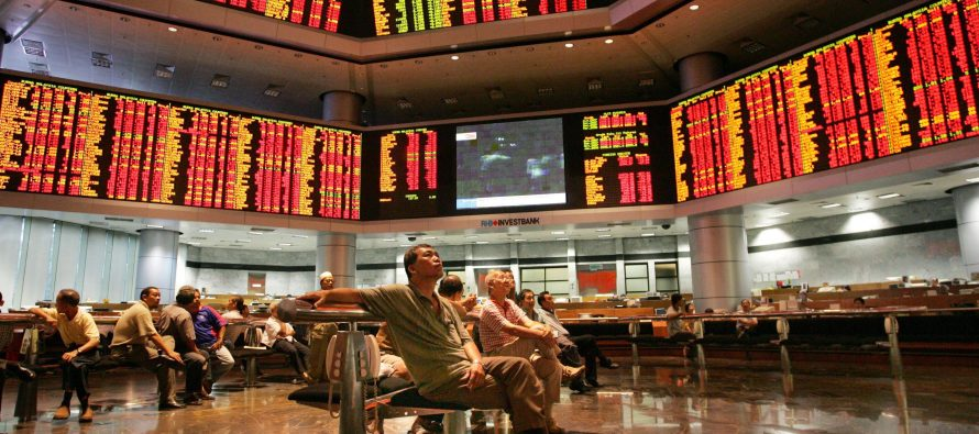 Bursa Malaysia shares red amidst US-China trade war