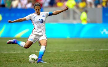 Football: U.S. women beat Kiwis in World Cup warm-up