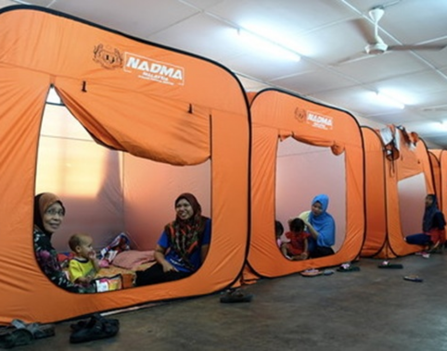 Penang flood: One relief centre closed this morning