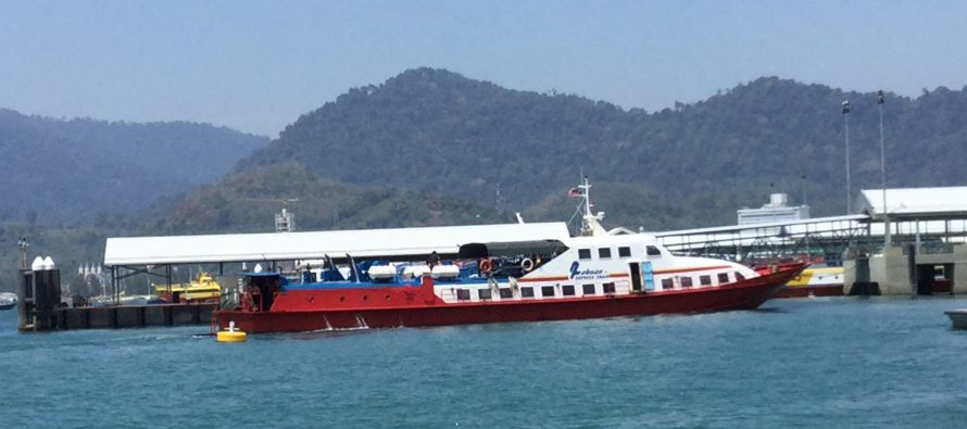 Langkawi ferries with non-compliance and fire safety issues