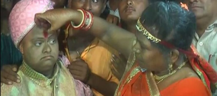 Gujarat disabled boy gets lavish wedding without a bride