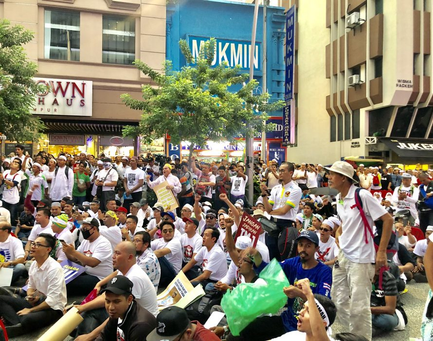 Dr Mahathir slams divisive Muslims HPKI rally
