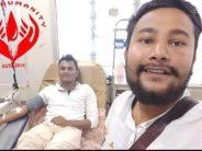 Muslim man breaks fast to donate blood to Hindu patient
