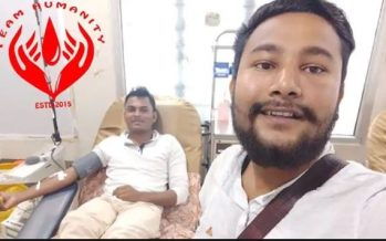 Muslim man breaks fast to donate blood to Hindu patient