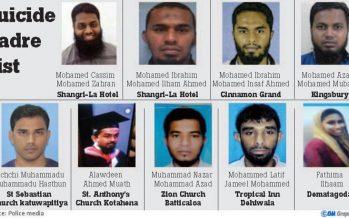 Sri Lanka Blast: Nine suicide bombers identified