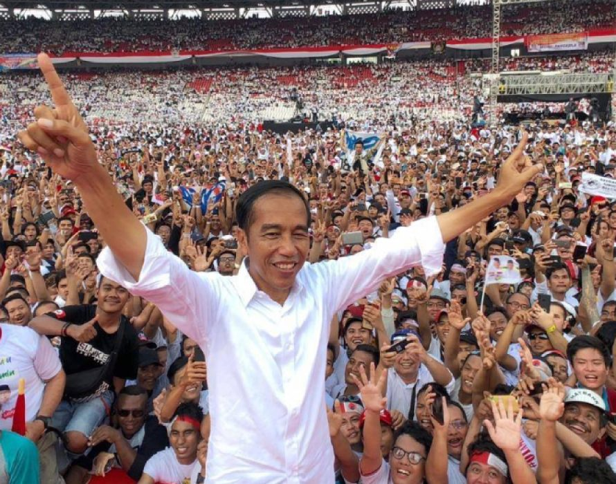 Breaking: Indonesia's Jokowi wins second term as president