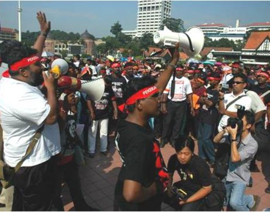 Ain't the first time having May Day rally at Dataran Merdeka