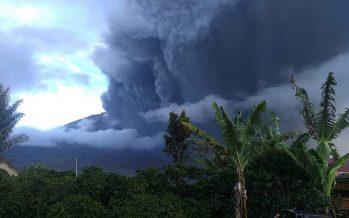 Indonesia's Mount Sinabung spews massive smoke and ash