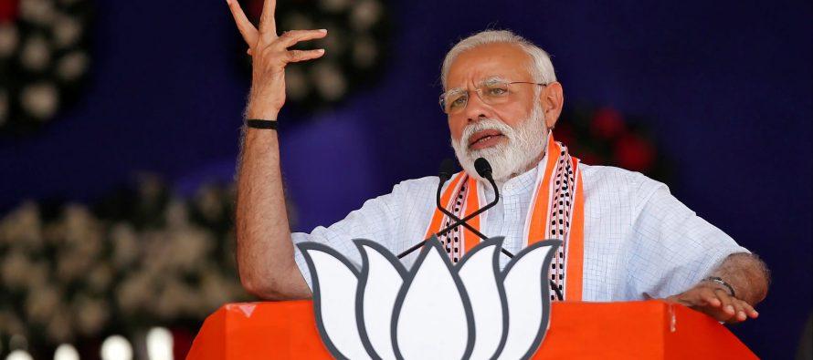 BJP reaches halfway mark, INC trailing