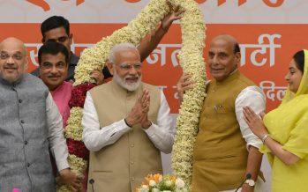 BJP and NDA wins Lok Sabha with 348 seats