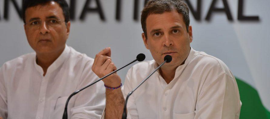 Gandhi concedes INC defeat, loses Amethi but wins Wayanad