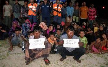 Bangladesh picks up 58 Malaysia-bound Rohingya at sea