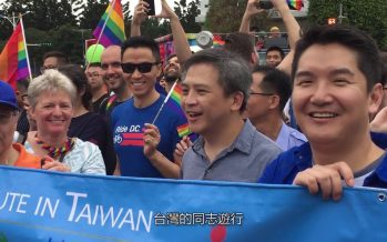 Taiwan Parliament endorses same-sex marriage
