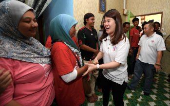 DAP's Vivian Wong triumphed four others to win Sandakan