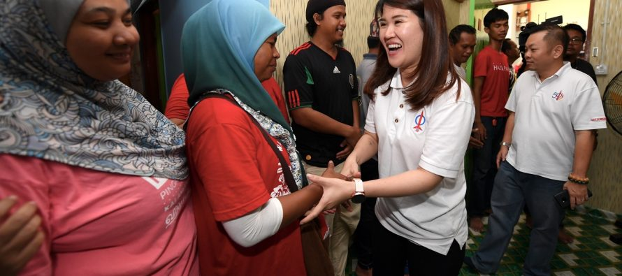 DAP's Vivian Wong triumphed four others to win Sandakan