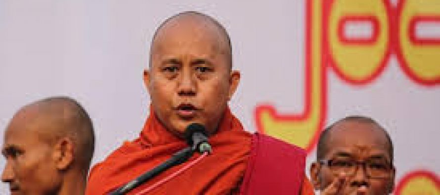 Arrest warrant issued for Myanmar fanatic monk Wirathu