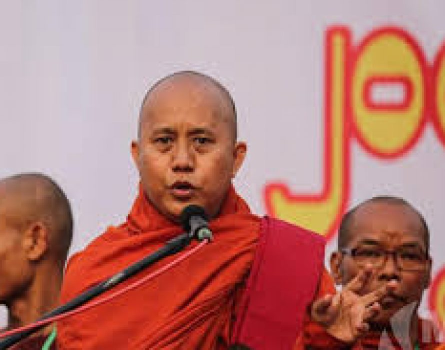 Arrest warrant issued for Myanmar fanatic monk Wirathu