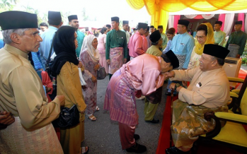 Perlis Raja to hold 'open house' on first day of Aidilfitri
