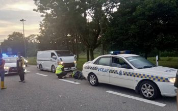 One cop dead, another injured after being hit by motorcyclist
