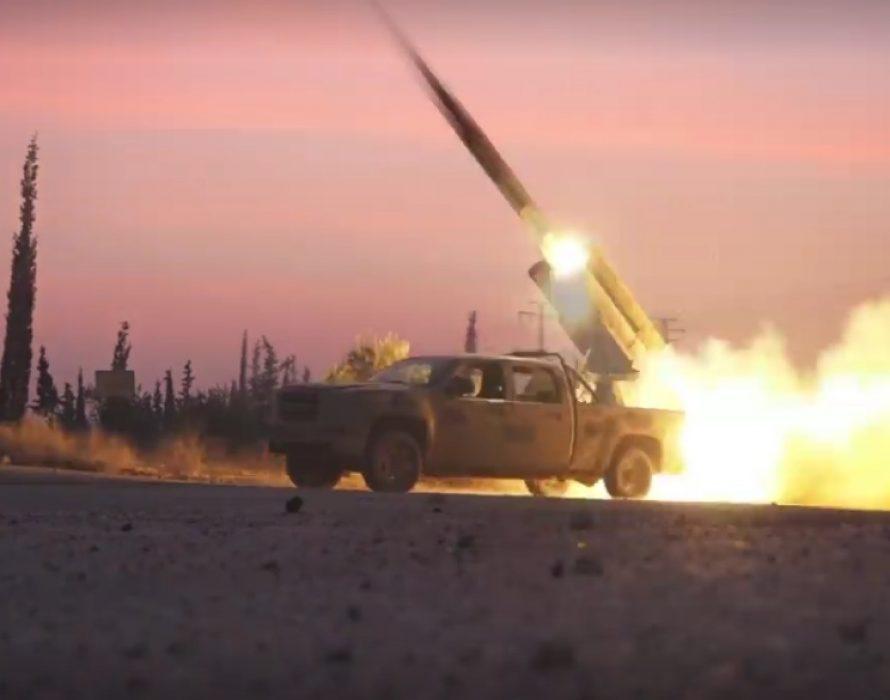 Jihadist rocket fire kills 12 civilians in Syria